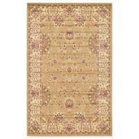Unique Loom Jacksonville Agra 5' x 8' Area Rug in Tan