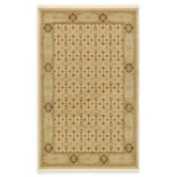 Unique Loom Jefferson Palace 5' X 8' Powerloomed Area Rug in Cream