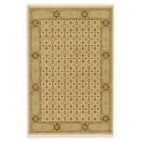 Unique Loom Jefferson Palace 6' X 9' Powerloomed Area Rug in Cream