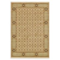 Unique Loom Jefferson Palace 7' X 10' Powerloomed Area Rug in Cream