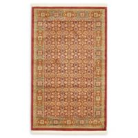 "Unique Loom Jefferson Palace 3'3"" X 5' Powerloomed Area Rug in Red"