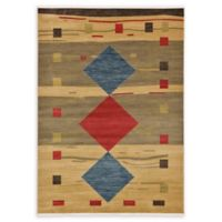 Unique Loom Kingston Nomad 7' X 10' Powerloomed Area Rug in Tan