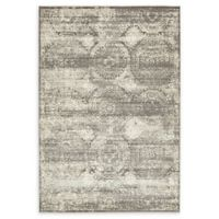 Unique Loom Kiawah Cambridge 7' X 10' Powerloomed Area Rug in Dark Gray