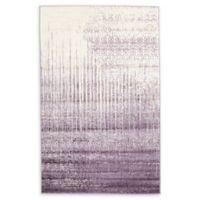 Unique Loom Jennifer Del Mar 5' X 8' Powerloomed Area Rug in Purple