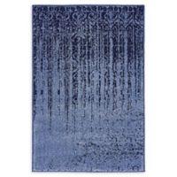"Unique Loom Jennifer Del Mar 2'2"" X 3' Powerloomed Area Rug in Blue"
