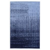 Unique Loom Jennifer Del Mar 5' X 8' Powerloomed Area Rug in Blue