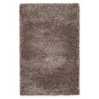"Unique Loom Luxe Solo 3'3"" X 5'3"" Powerloomed Area Rug in Brown"