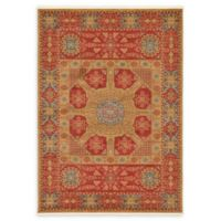 Unique Loom Monroe Palace 7' X 10' Powerloomed Area Rug in Red