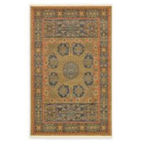 Unique Loom Monroe Palace 5' X 8' Powerloomed Area Rug in Blue