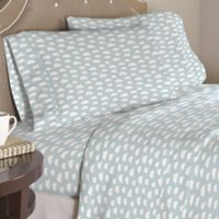 Pointehaven Clouds 200-Thread-Count Twin Sheet Set in Blue