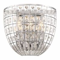 Minka Lavery Palermo 3-Light Wall Sconce Fixture in Chrome