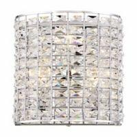 Minka Lavery Palermo 3-Light Wall Sconce Figure in Chrome