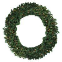 Northlight 60-Inch Pre-Lit Deluxe Windsor Wreath