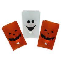 Sienna 3-Light Pumpkin and Ghost Luminary Set in Orange