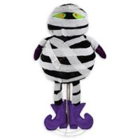 Northlight® Pre-Lit LED Standing Mummy Halloween Decor in Black/White