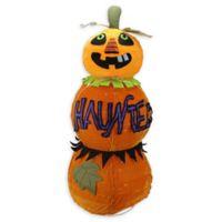 "Northlight® ""Haunted"" Jack-o-Lantern Halloween Decoration in Orange"