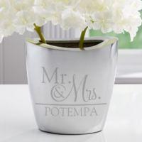 Wedded Pair Aluminum Vase
