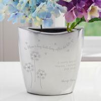 A Mom's Hug Aluminum Vase