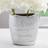 Memory Becomes A Treasure Aluminum Vase