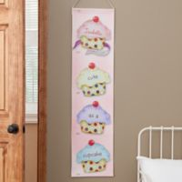 Personalized Cute As A Cupcake Growth Chart