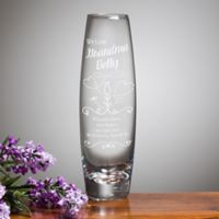 We Love Grandma Bud Vase