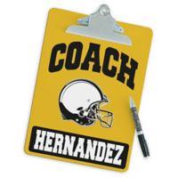 Football Coach Clipboard