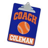 Baseball Coach Clipboard