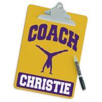 Gymnastics Coach Clipboard