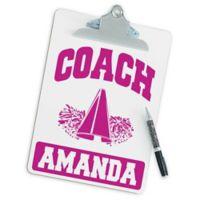 Cheerleading Coach Clipboard