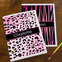 Animal Print Folders (Set of 2)