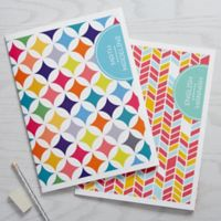 Geometric Subject Folders (Set of 2)