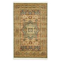"""Unique Loom Jackson Palace 3'3"""" X 5' Powerloomed Area Rug in Blue"""