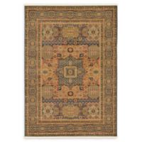 Unique Loom Jackson Palace 7' X 10' Powerloomed Area Rug in Blue