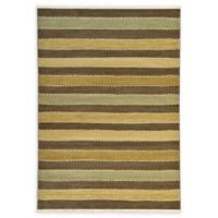 Unique Loom Monterey Nomad 7' X 10' Powerloomed Area Rug in Brown