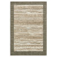 Unique Loom Milwaukee Transitional 6' X 9' Powerloomed Area Rug in Brown