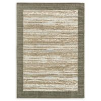 Unique Loom Milwaukee Transitional 7' X 10' Powerloomed Area Rug in Brown