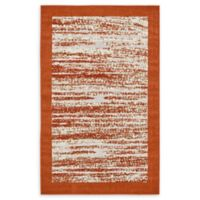 Unique Loom Milwaukee Transitional 5' X 8' Powerloomed Area Rug in Terracotta