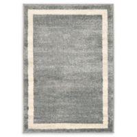 """Unique Loom Maria Del Mar 2'2"""" X 3' Powerloomed Area Rug in Gray"""