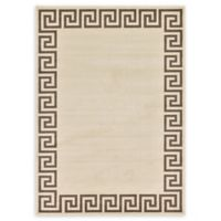 Unique Loom Modern Athens 7' X 10' Powerloomed Area Rug in Beige/brown