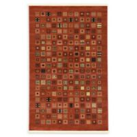 Unique Loom Manchester Nomad 5' X 8' Powerloomed Area Rug in Red