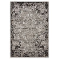 Unique Loom Manchester Transitional 4' X 6' Powerloomed Area Rug in Light Gray
