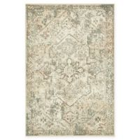 Unique Loom Sandstorm Sahara 4' X 6' Powerloomed Area Rug in Cream