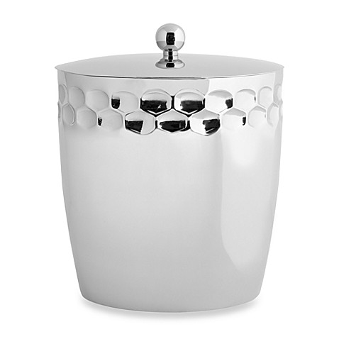 Monique Lhuillier Waterford® Atelier Covered Ice Bucket with Tongs