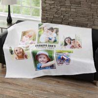 Six Photo Collage 50-Inch x 60-Inch Fleece Blanket