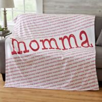 Our Special Lady 50-Inch x 60-Inch Fleece Blanket