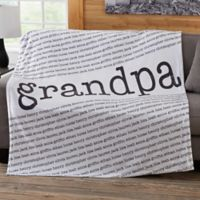 Our Special Guy 50-Inch x 60-Inch Fleece Blanket