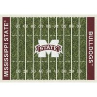 Mississippi State University 7-Foot 8-Inch x 10-Foot 9-Inch Large Home Field Rug