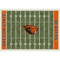 Oregon State University 3-Foot 10-Inch x 5-Foot 4-Inch Small Home Field Rug