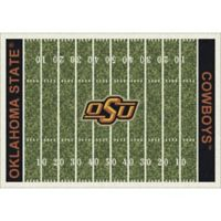 Oklahoma State University 7-Foot 8-Inch x 10-Foot 9-Inch Large Home Field Rug