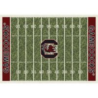 University of South Carolina 7-Foot 8-Inch x 10-Foot 9-Inch Large Home Field Rug